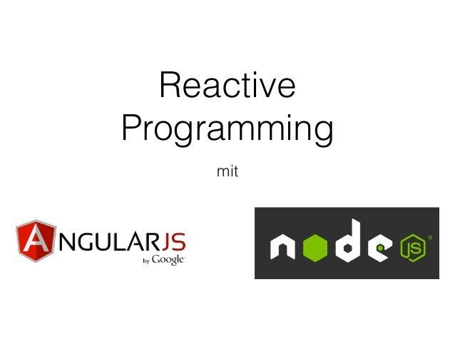 Reactive Programming mit