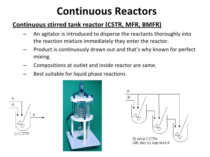 continuous stirred tank reactors essay Cfd modeling of continuous stirred tank  electrochemical reactors play an important role  scale-up of continuous stirred tank electrochemical and.
