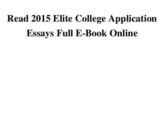 Ecosystem Essay Book