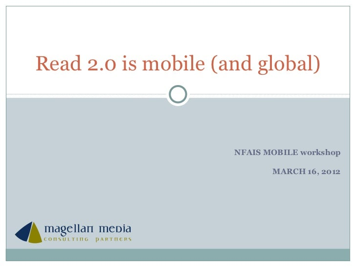 Read 2 is mobile (and global)