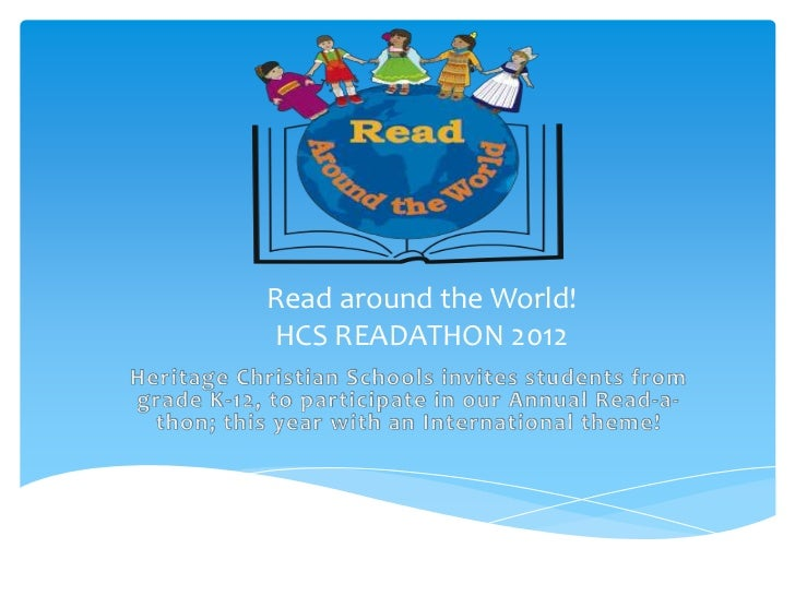 Read around the World!HCS READATHON 2012