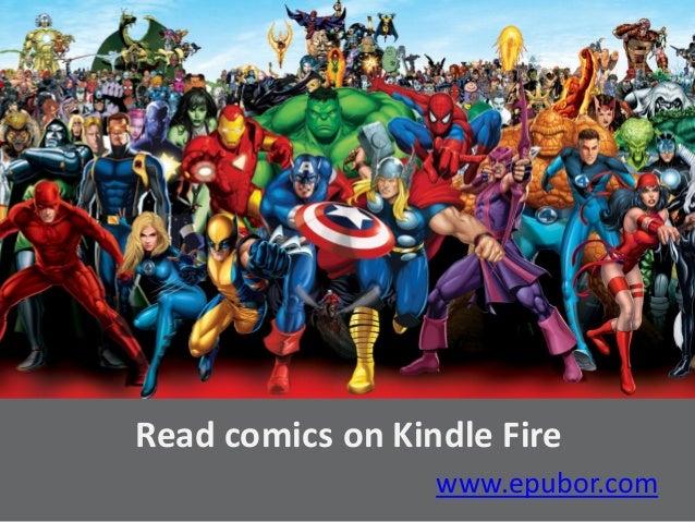 Read comics on kindle fire