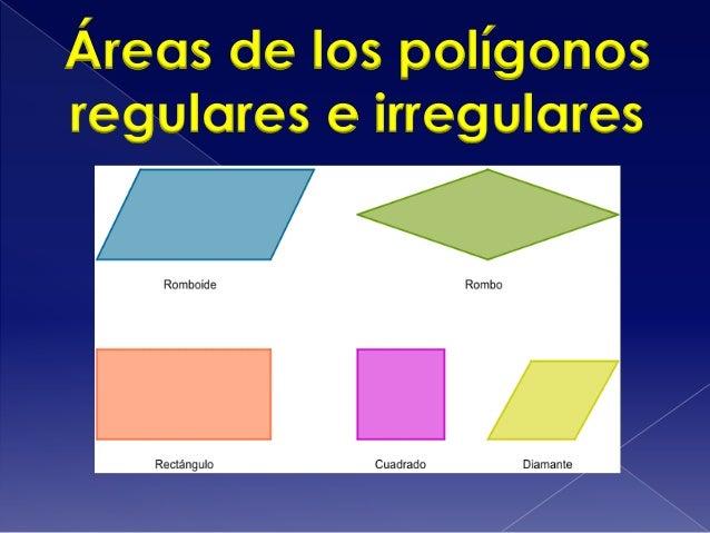 Área de los paralelogramos