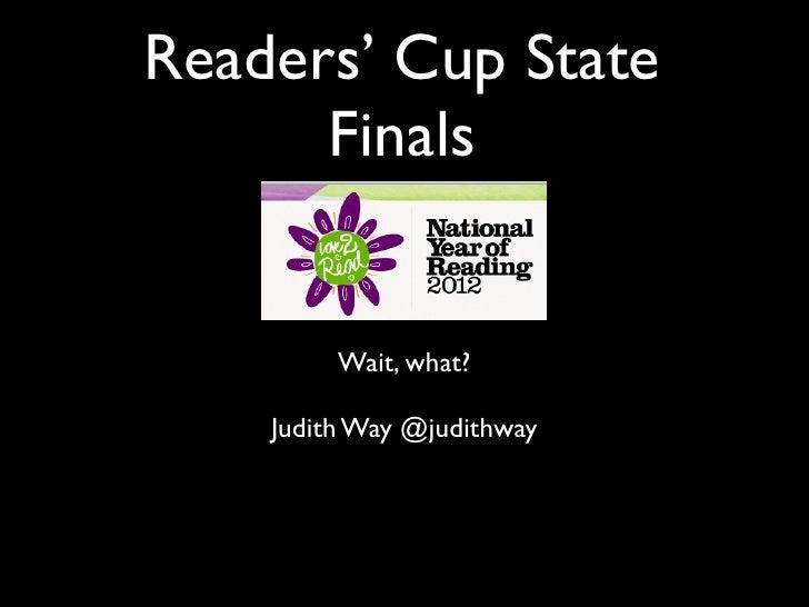 Readers cup   wait what public