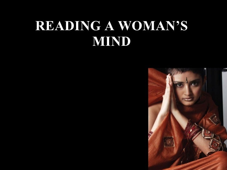 Reading A Woman'S Mind