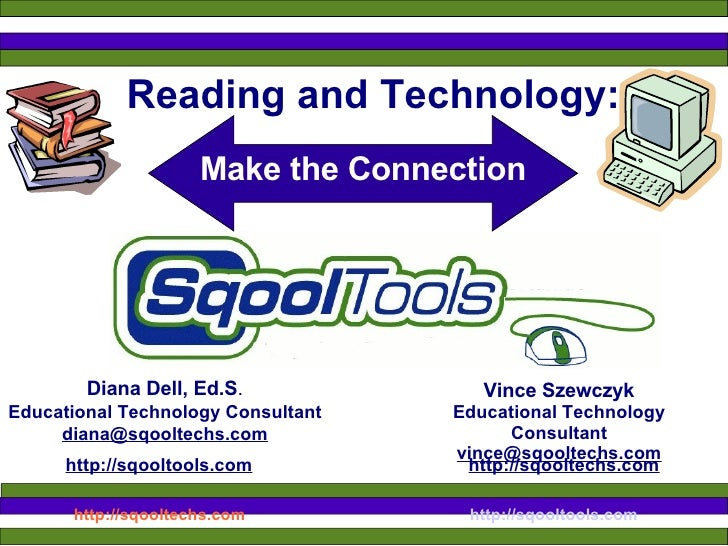 Reading and Technology:  Make the Connection