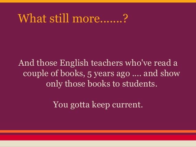 Anybody English-savvy?
