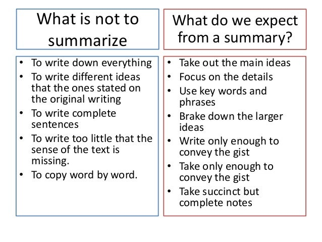 summarize a essay How to write a book summary writing a summary of a book is a great way for you to absorb what you're reading it also gives you a.