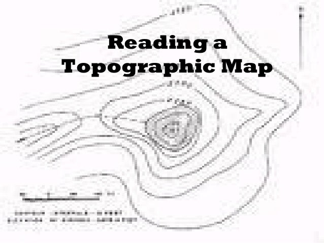 Reading a topographic map