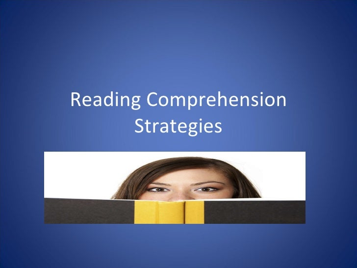 Reading comprehension strategies97