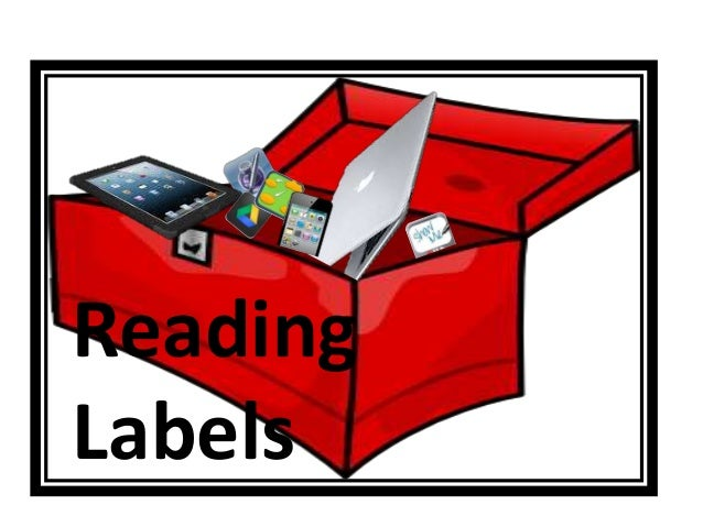 Reading Labels