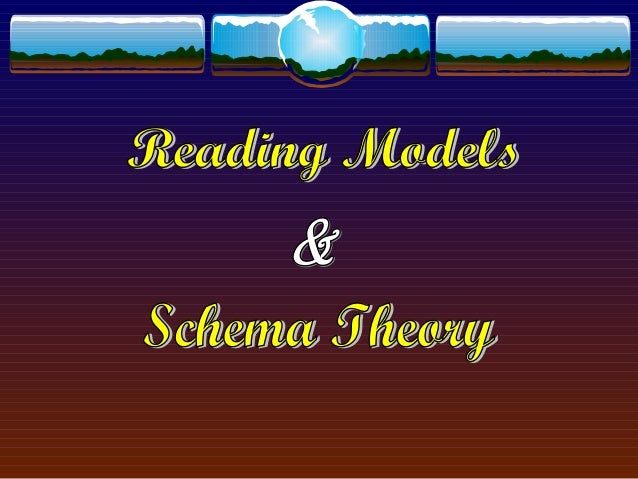 schema theory essay View schema theory research papers on academiaedu for free.