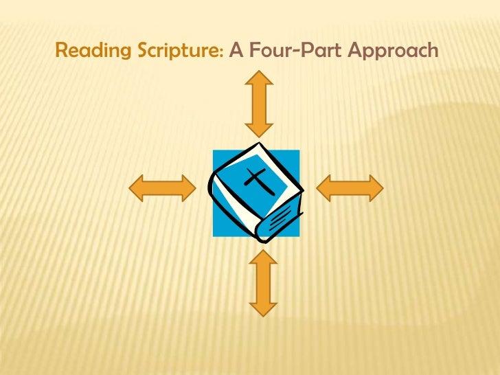Reading Scripture: A Four-Part Approach<br />