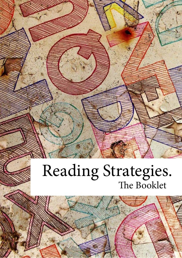 Reading strategies booklet