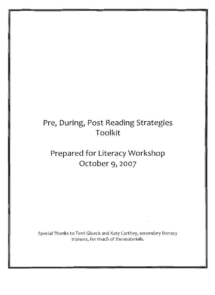 Reading Strategies Toolkit