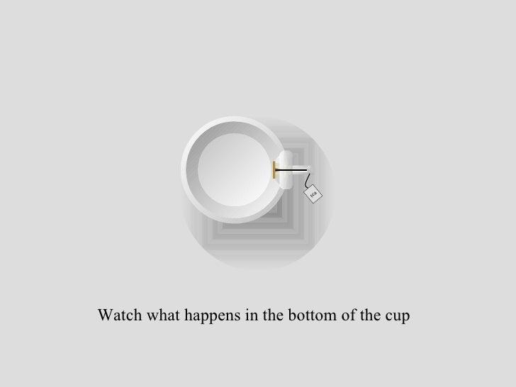 Reading tea leaves slide show