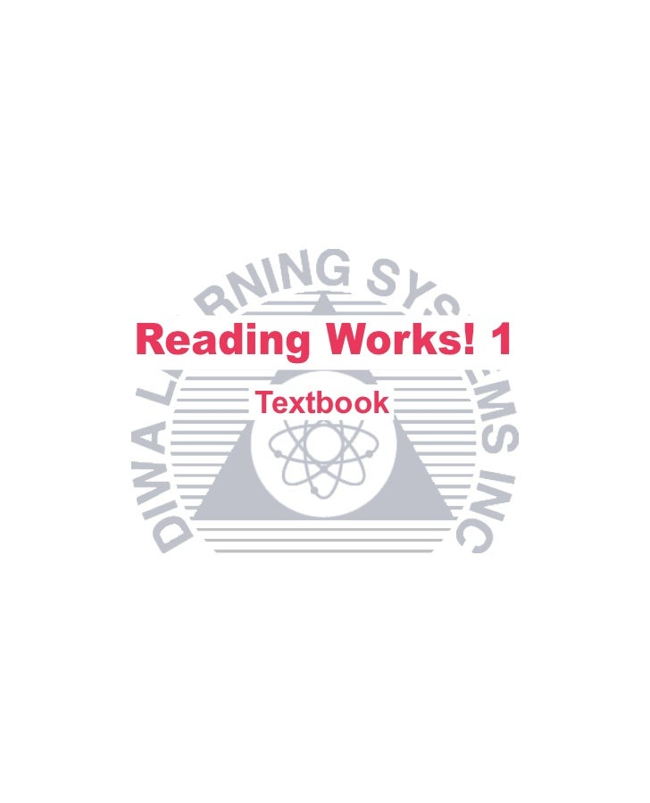Reading Works! 1     Textbook