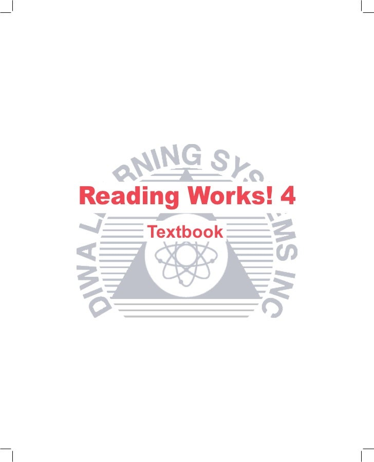 Reading Works! 4     Textbook