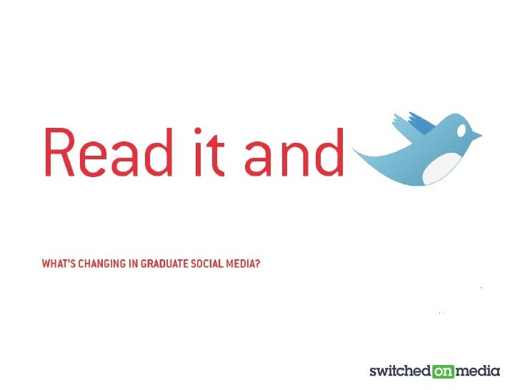 Recruitment: what's changing in graduate social media?