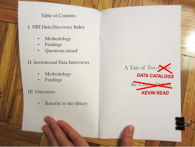 A Tale of Two Data Catalogs