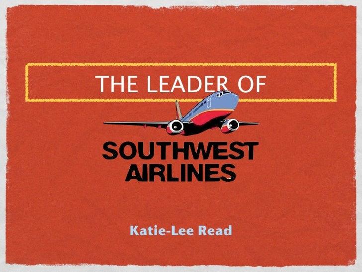 THE LEADER OF  Katie-Lee Read