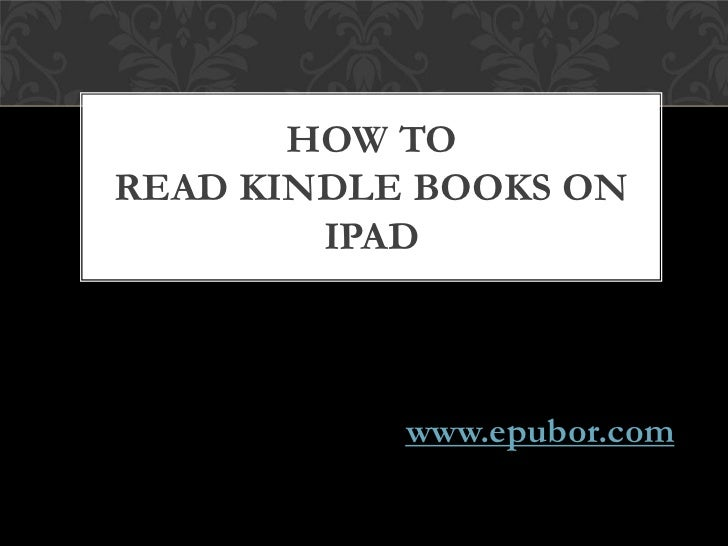 how to read kindle books on android