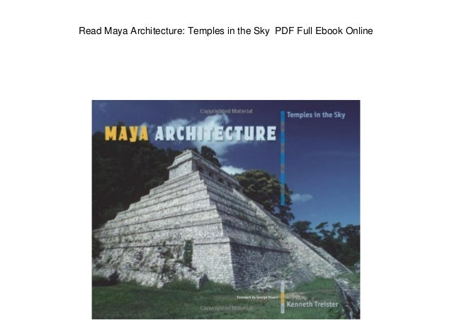 read maya architecture temples in the sky pdf full ebook online