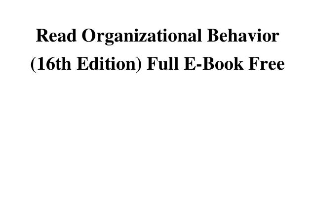 case 2 incident organizational behavior Organization behaviour by robbin by sher1shah-1 in browse  personal growth   psychology.