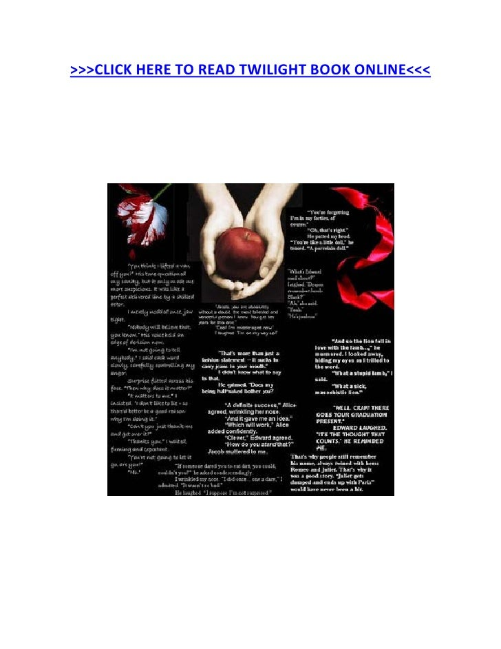 Read Twilight Book Online