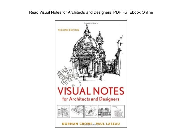 Visual Notes For Architects And Designers Pdf Download