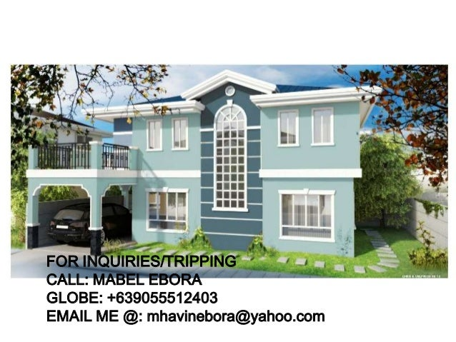 Ready for occupancy house and lot in cavite brandnew unit for sale