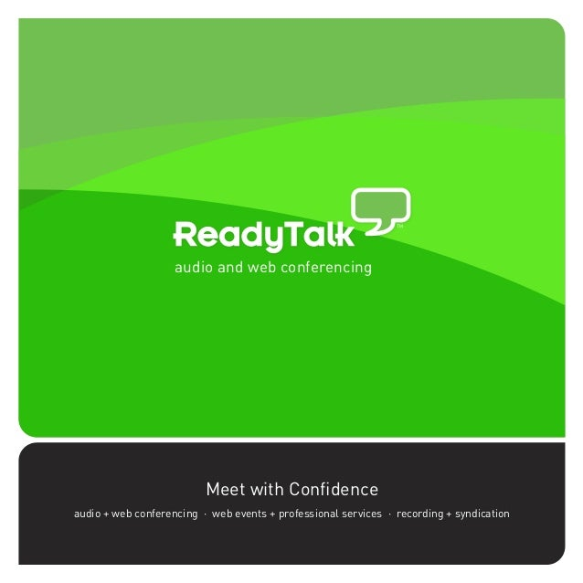 ReadyTalk Corporate Brochure