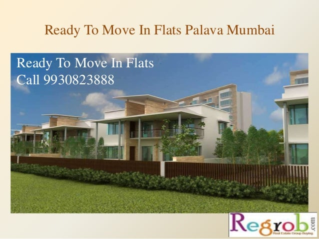 Ready To Move In Flats Palava Mumbai Ready To Move In Flats Call 9930823888