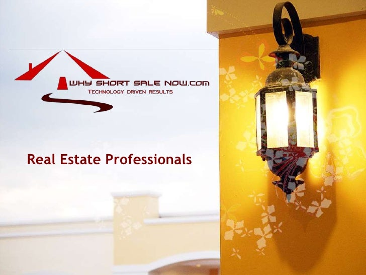Real Estate Professionals<br />