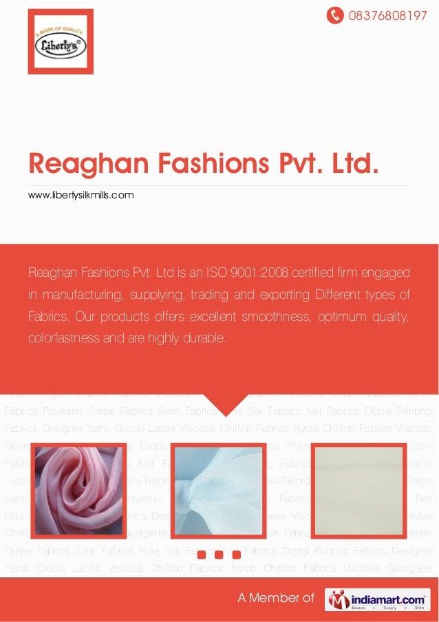 Reaghan Fashions Pvt. Ltd.