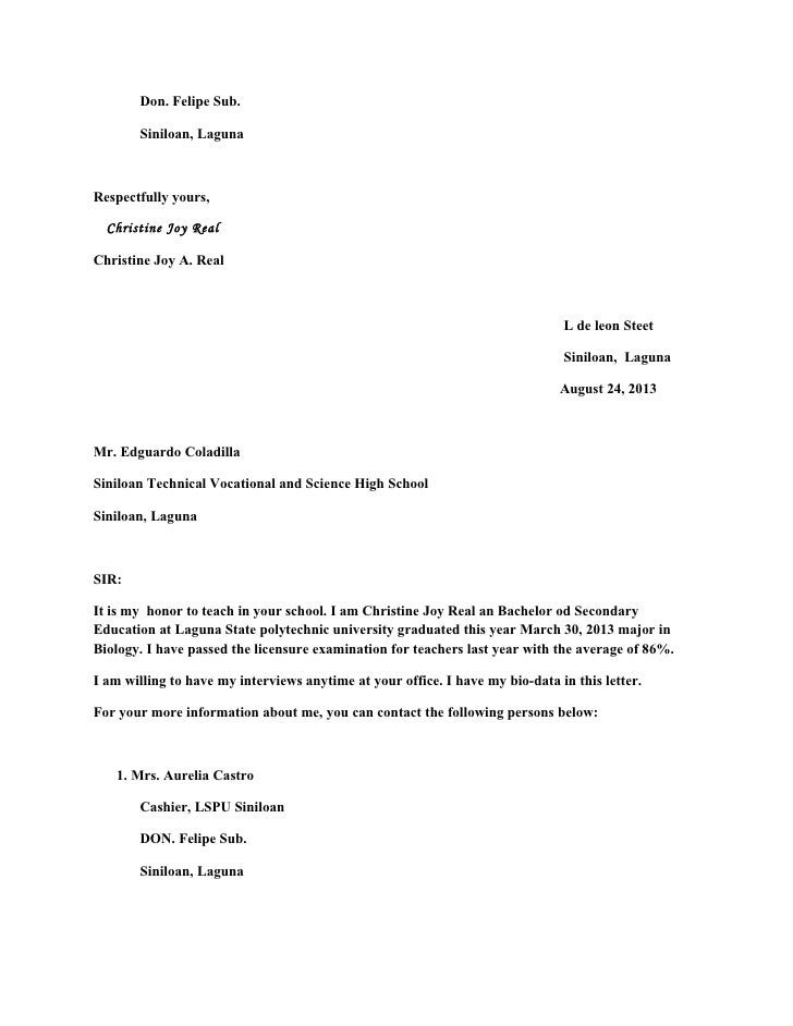 cover letter computer science teacher for you application leon