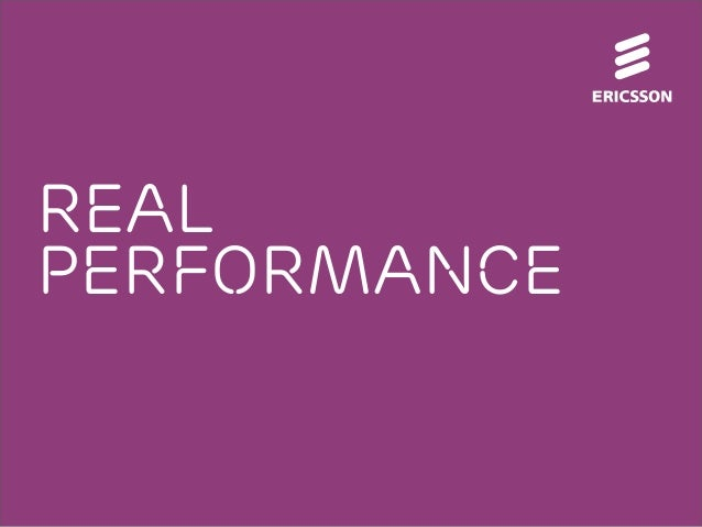 Real Performance is all that counts