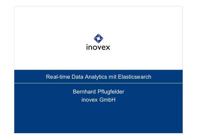 Real-time Data Analytics mit Elasticsearch