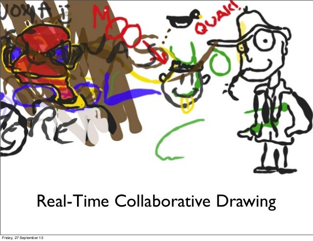 Real-time collaborative drawing
