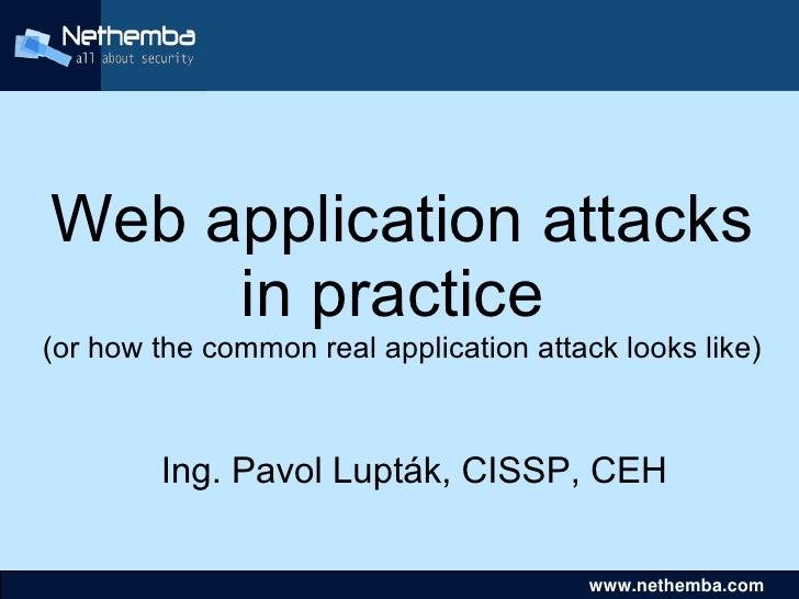 Real web-attack-scenario