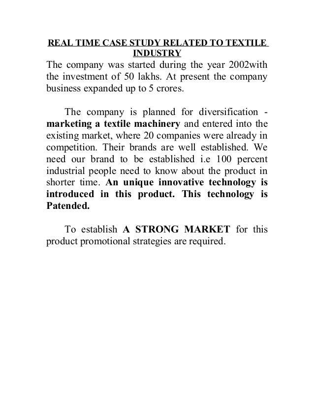 auora textile company case study