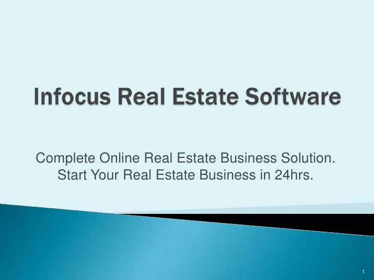 Complete Online Real Estate Business Solution.   Start Your Real Estate Business in 24hrs.                                ...