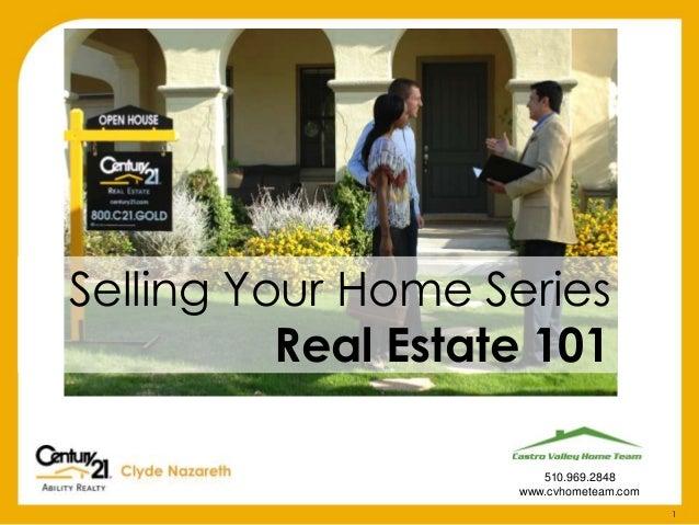 Castro Valley-Real Estate 101
