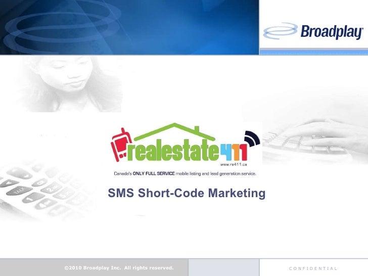 SMS Short-Code Marketing