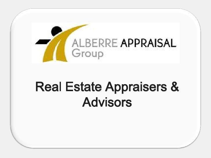 Real Estate Appraisers & Advisors<br />