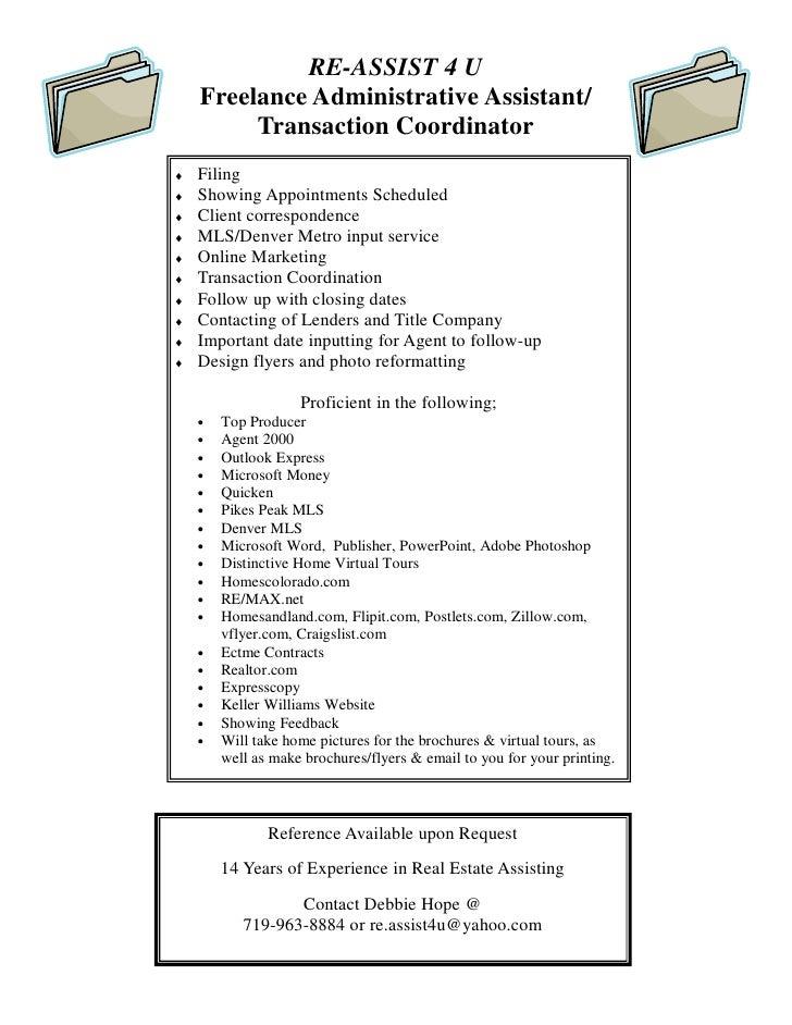 Real Estate Assist Flyer