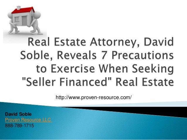 David Soble Proven Resource LLC 888-789-1715 http://www.proven-resource.com/