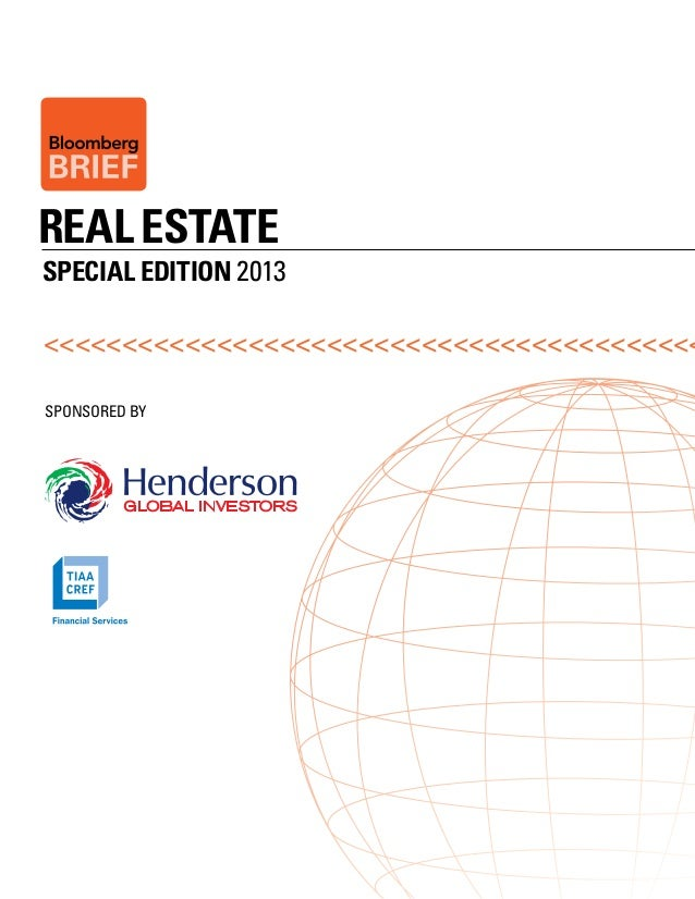 Bloomberg Brief Real Estate Special