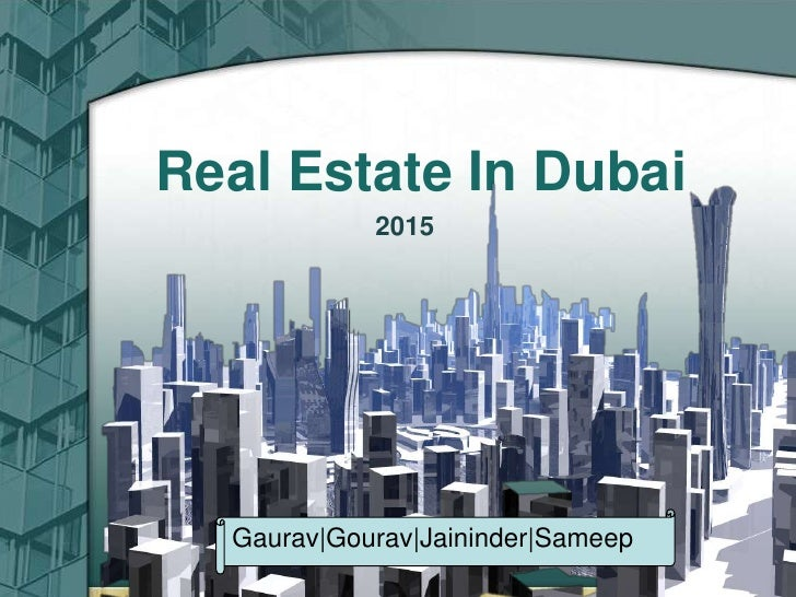 Real EstateIn Dubai <br />Click here to add text<br /> 2015<br />Click here to add text. Click here to add text.<br />Clic...