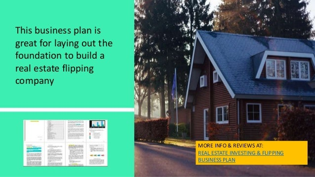 Flipping houses business plan